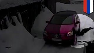 Одна россиянка несколько раз переехала другую за царапину на машине
