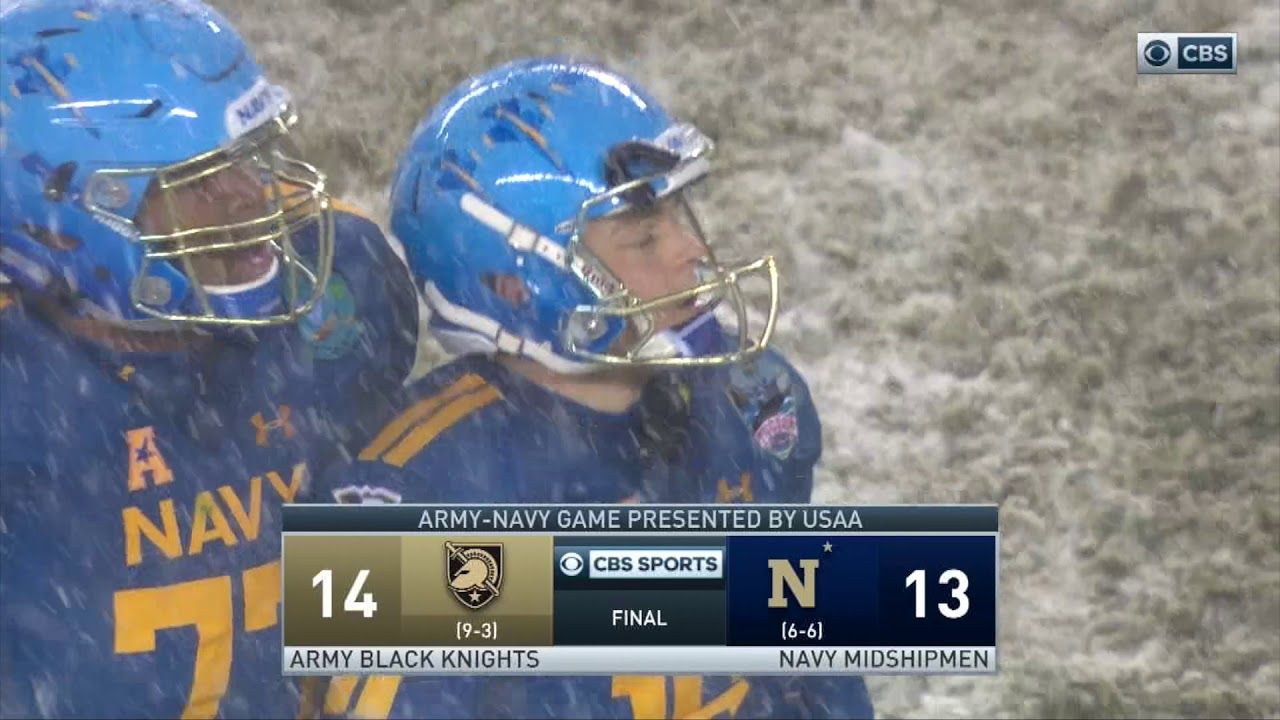 Army Football  Final Play of the 2017 Army-Navy Game 12-9-17 - YouTube 0ac63f3e6