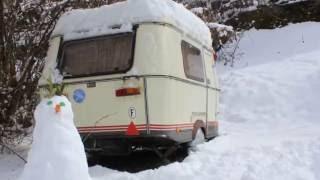 L'hiver au Camping caravaneige de l'Ourson