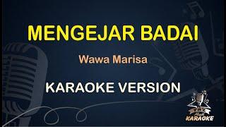 Mengejar Badai Wawa Marisa ( Karaoke Dangdut Koplo ) - Taz Musik
