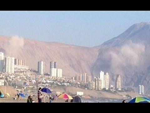 Sismo 6.7 en Vivo. Iquique - Chile. Compilación HD. 16 de Marzo 2014.