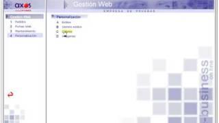 Software TPV CRM y de comercio electrónico (AXOS)