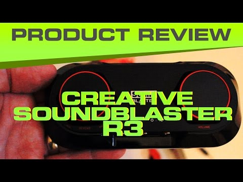 Sound Blaster R3 - 10K Sub Song / Effects - Good Cheap YouTube Audio Recording Kit