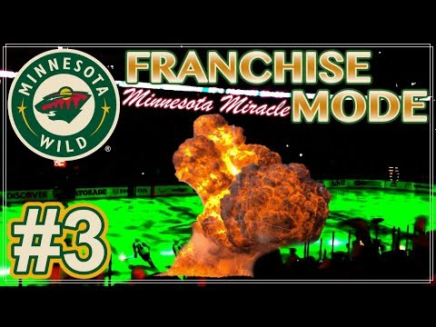 "NHL 18 Minnesota Wild Franchise Mode #3 ""The Decision is Made!"""