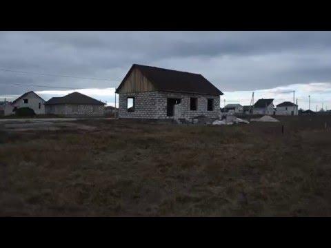 Обзор одноэтажного дома из газобетана