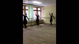 Народный танец. Контрольный урок