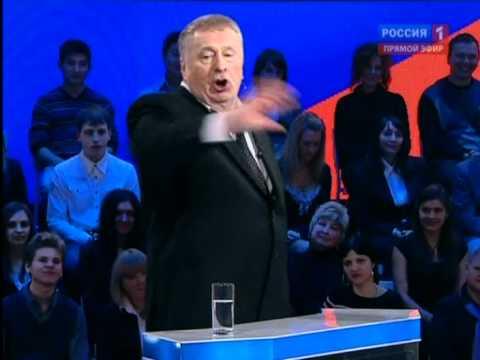 Скандал на дебатах Жириновский Vs Пугачева