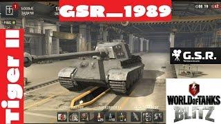 Wot Blitz катаем Tiger II.