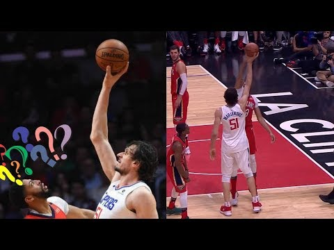 Boban Marjanovic 'BULLYING' Anthony Davis with HEIGHT | Davis Looks Like a Kid