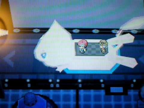 Pokemon Platinum Plaza EVENT MEW