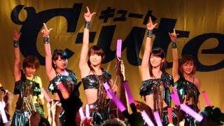 アイドルグループ「℃-ute(キュート)」が7月14日、東京・原宿の「ラフォーレミュージアム原宿」で新曲「悲しき雨降り/アダムとイブのジレンマ」の発売記念イベントを2回 ...