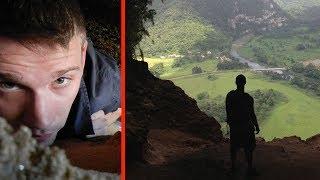 행운의 발견: 깊은 산에서 길을 잃은 남자, 지구의 신비를 발견하고 마는데.