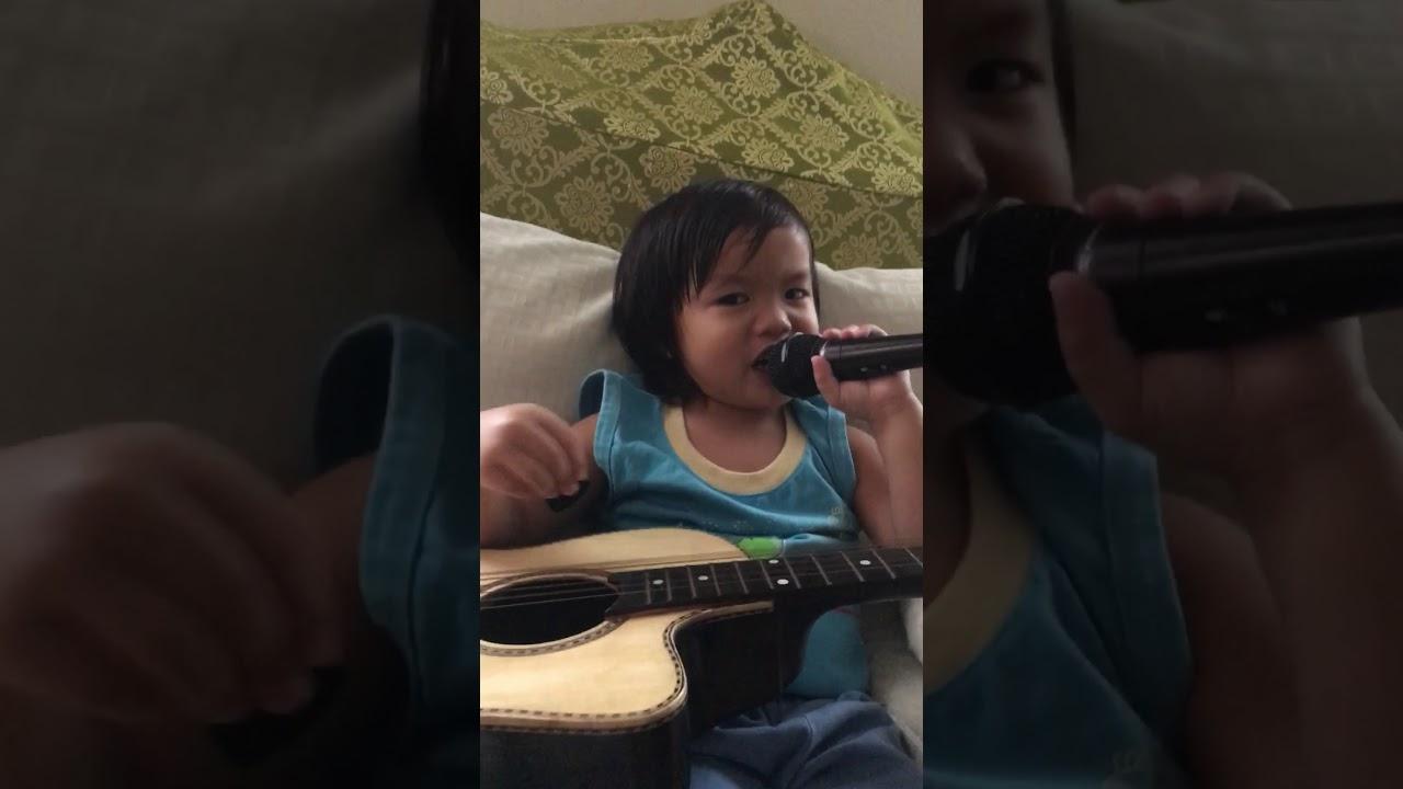 Bahay Kubo With Guitar Mic By Mathewbrevin Youtube