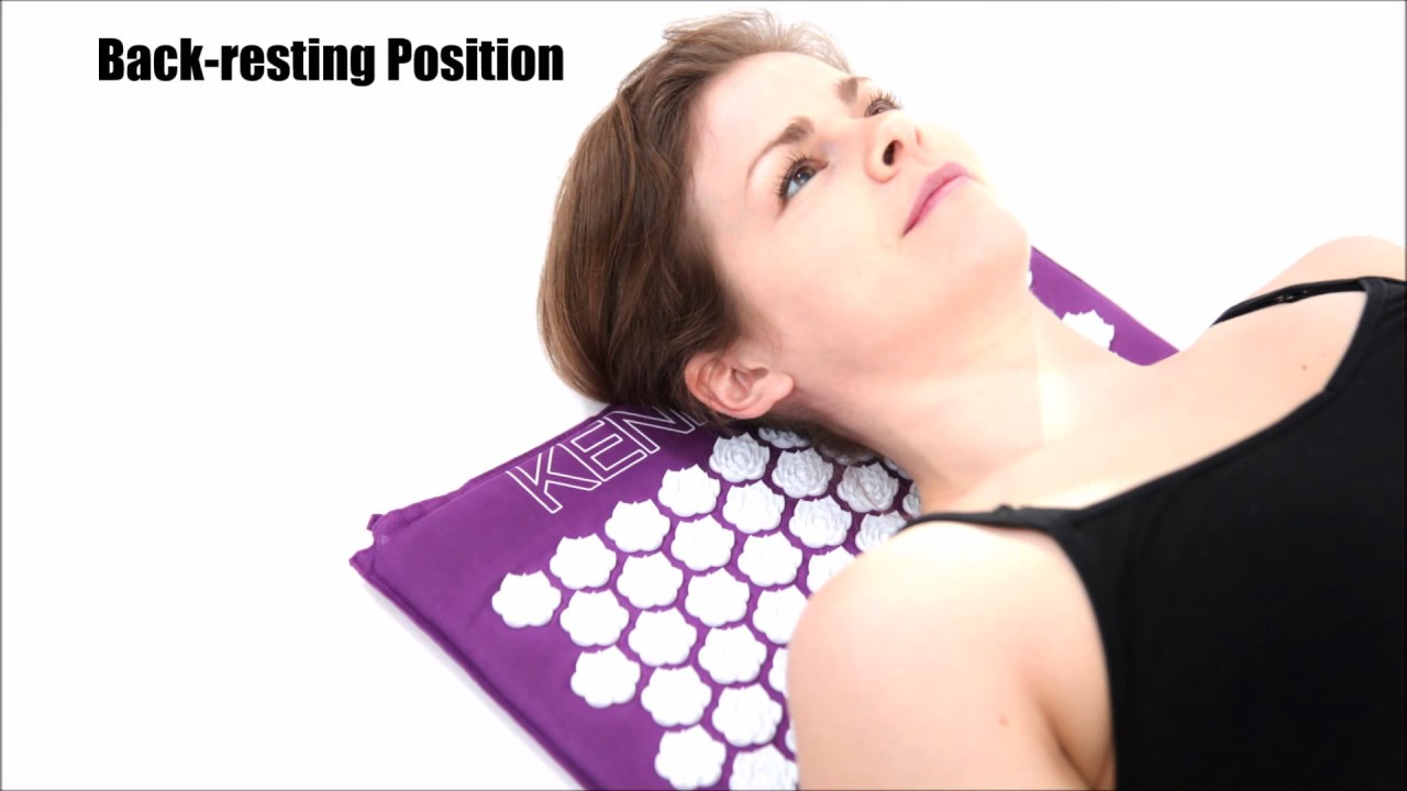 Acupressure Mat Uses And Positions Youtube