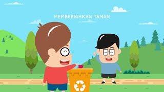 Eza dan adi berjalan-jalan ke taman ternyata menemukan banyak sampah bertebaran. kita tonton yuk episode cerita yang satu ini. jangan lupa li...