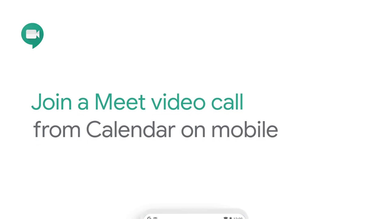 How To Join A Google Meet Video Call From Calendar On Mobile