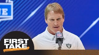 Stephen A. and Max debate Raiders coach Jon Gruden denouncing analytics | First Take | ESPN