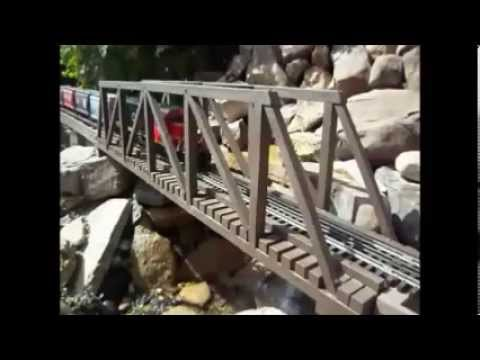 O Scale Trains outdoor garden railroad – Building an Outdoor Garden Layout