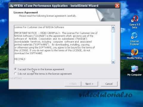 Update driver placa video nvidia si overclok
