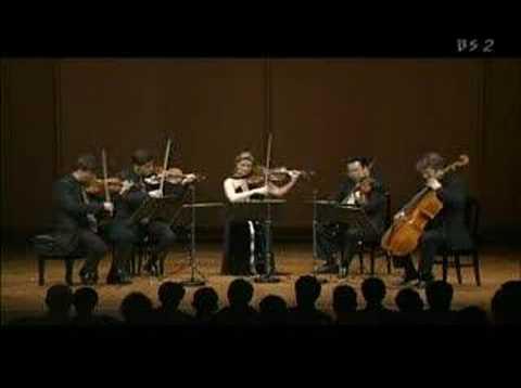 Henschel Quartet Live in Tokyo - Brahms Quintet 3