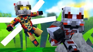 *Mike Meyers* Ant-Man VS The Wasp Hide-and-Seek - Minecraft Modded Minigame | JeromeASF