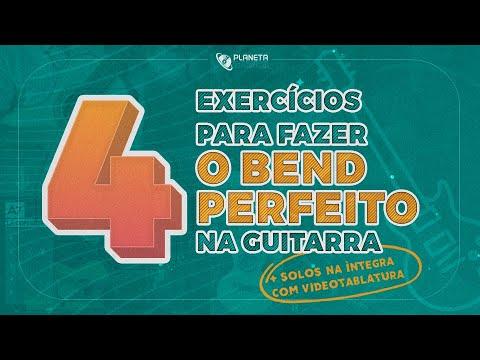 4 Exercícios para fazer o BEND PERFEITO na Guitarra   2 Solos completos para melhorar seu Bend