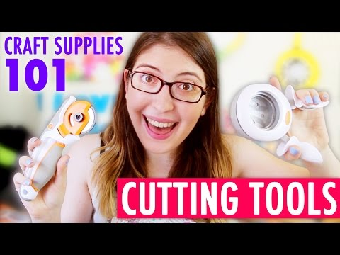 Let's Talk About CUTTING TOOLS + Giveaway - Craft Supplies 101 by @karenkavett