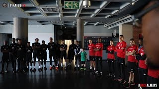 Orlando Pirates | Special Feature | The Bucs Meet 10yr-old Superfan Gilad Ancer