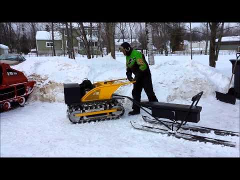 "1964 Hus-Ski 200 "" Customs "" / Double track / Rotax engine / part 1"