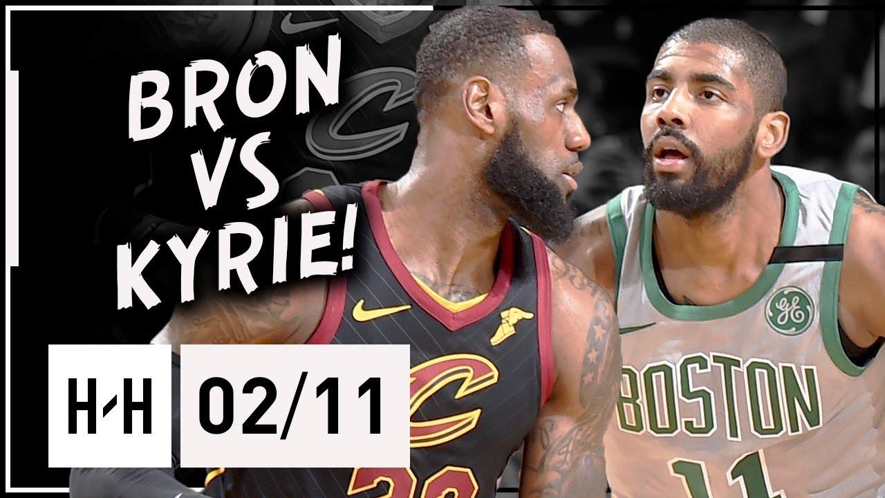 20c0fc9fd85 LeBron James vs Kyrie Irving ELITE Duel Highlights 2018.02.11 Celtics vs  Cavaliers - MUST SEE!