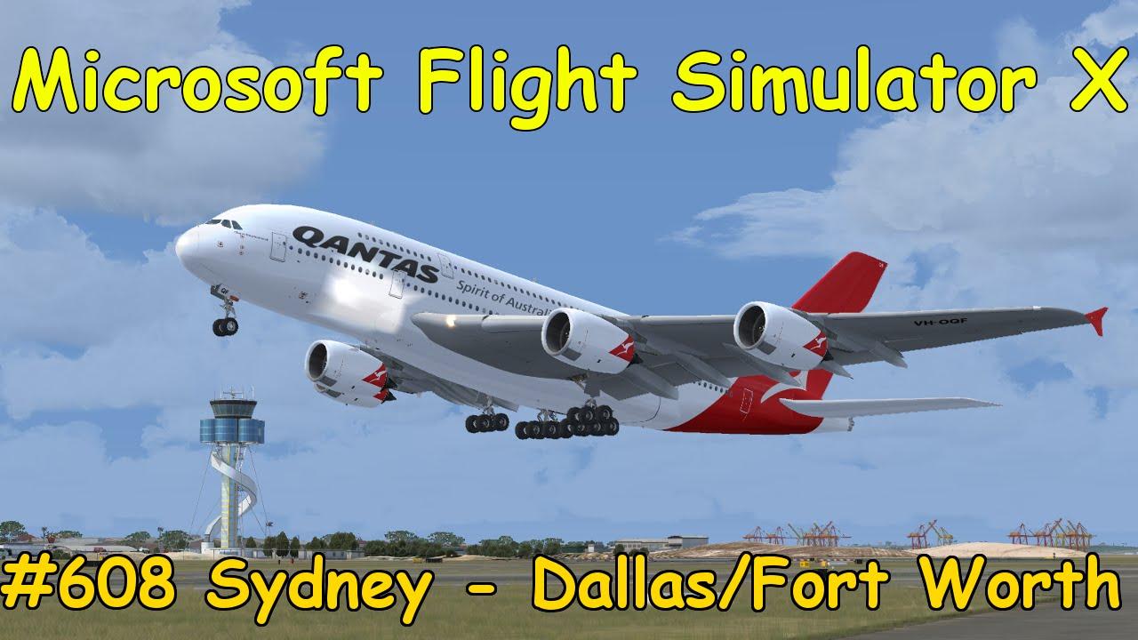 let 39 s play microsoft flight simulator x teil 608 sydney. Black Bedroom Furniture Sets. Home Design Ideas