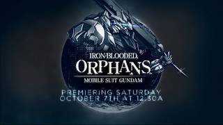 Toonami - Gundam: Iron Blooded Orphans Season 2 Promo (HD 1080p)