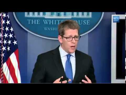 Jay Carney squirms while trying to explain changes to Benghazi talking points