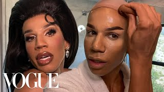 Naomi Smalls's 70-Step Guide to Drag Glamazon | Beauty Secrets | Vogue
