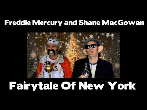 Freddie Mercury and Shane MacGowan -  Fairytale Of New York