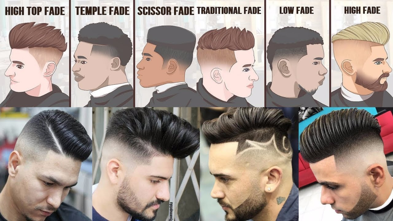 Top 20 Popular Haircuts For Men 2018 Fade Hairstyles For