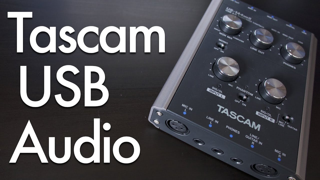 Tascam US-144mkII USB Audio Interface Review - YouTube