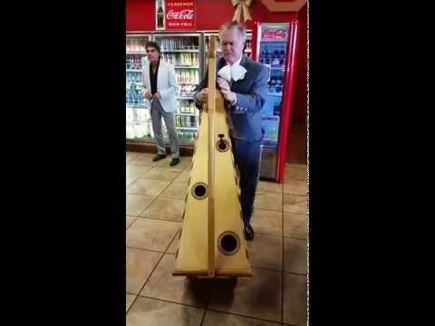 video:Delightful harp performance by Mr. W. Faulkner