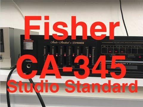 Fisher CA-345 Studio Standard - Audio Test