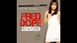 Benassi Bros feat. Dhany - Hit My Heart (Fred Dope 2013 Rework) @ Provenzano DJ Show (13/3/2013)