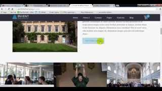 Invent - Education Course College WordPress Theme Preview
