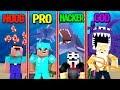 Minecraft - NOOB VS PRO VS GOD VS HACKER - UNDERWATER WORLD WAR!