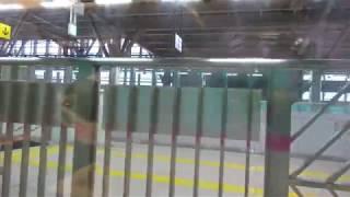 北海道新幹線新青森駅を出発
