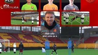 FC Nordsjaelland Goalkeeper Training Super Liga (1ª División Dinamarca)