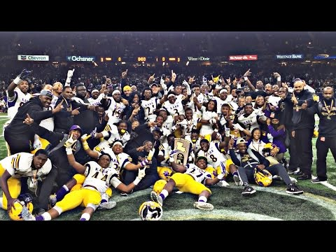 "Edna Karr State Championship Run ""Road to the Dome"""