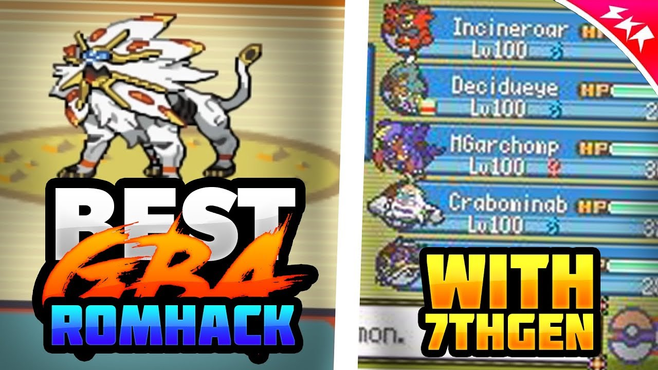 Best Completed Pokemon Gba Rom Hack With Gen 7 Pokemon 2018 Youtube