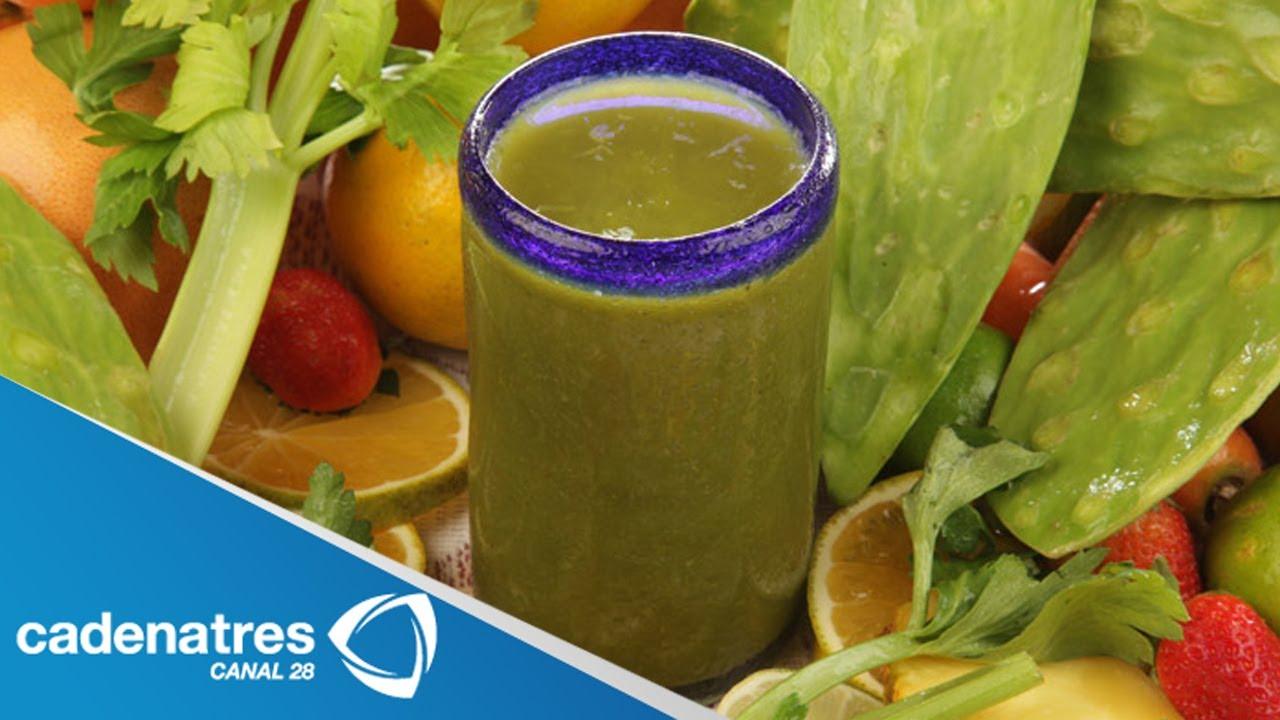 Como preparar jugos nutritivos para bajar de peso