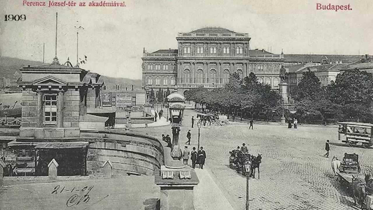 Old Photos Of Budapest 1900-1917 - Youtube-3256