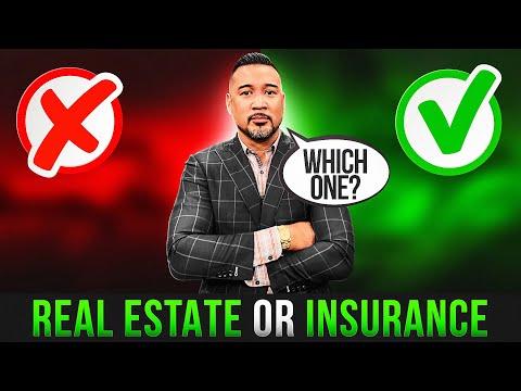 10 Reasons I Chose Insurance Vs. Real Estate as an Entrepreneur | Get Money EP