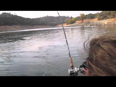 Folsom lake holdover youtube for Folsom lake fishing report